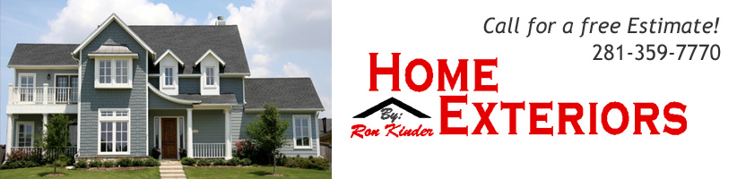 Kingwood TX Window Installation, Siding, Gutter Installation & more by Ron Kinder